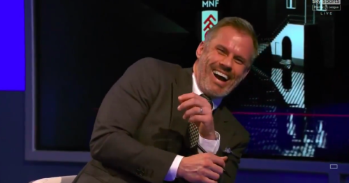 Neville gaffe leaves Carragher in hysterics on Monday Night Football