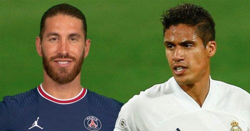 Sergio Ramos appears to make Man Utd prediction with message to Raphael Varane