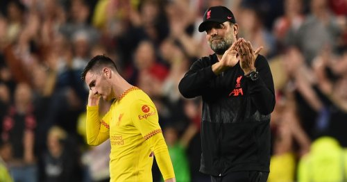 Klopp admitted Robertson concern ahead of Liverpool's draw at Brentford