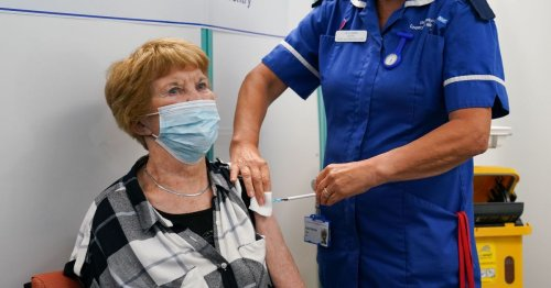Grandma, 91, who was first in world to get Covid vaccine receives booster jab
