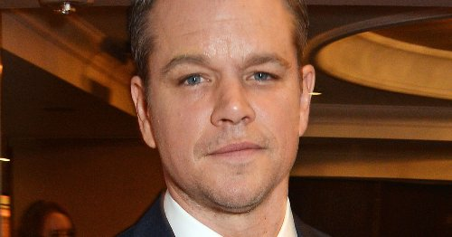 Matt Damon swarmed by fans as he attempts to have quiet pint at 10am