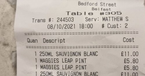 Pub goers left horrified at 'insane' drinks bill - but not everyone agrees
