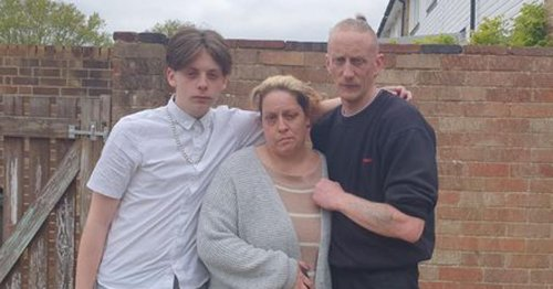 Couple live in car separated from son as council made them homeless