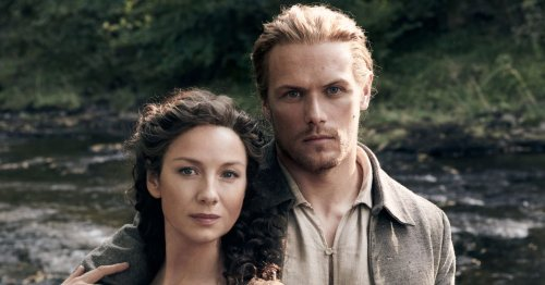 Sam Heughan says Outlander scenes had to reshoot due to Caitriona Balfe's bump