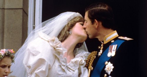 Slice of Charles and Diana's wedding cake in clingfilm on sale 40 years on