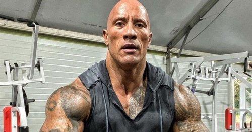 Dwayne Johnson has massive bull tattoo enhanced with 30 hours of work