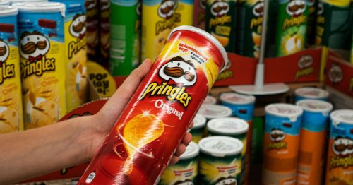 Pringles change their logo for first time in 20 years - giving Mr P a makeover