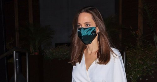 Angelina Jolie and The Weeknd seen leaving restaurant together after cosy dinner
