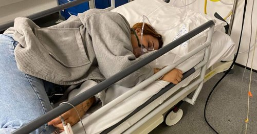 Woman spiked in bar shares chilling pic of her in hospital bed fearing for life