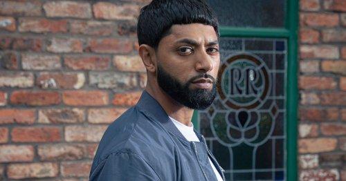 Corrie return for Zeedan Nazir as actor reprises role for 'explosive' storyline