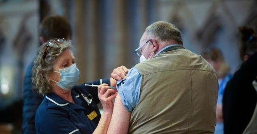 Over-50s urged to book Covid jab by Monday or risk delays due to vaccine row