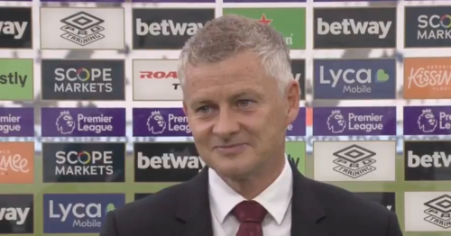 Ole Gunnar Solskjaer explains why he dropped Jadon Sancho for West Ham clash