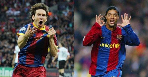 Ronaldinho makes plea to former teammate Lionel Messi over Barcelona future