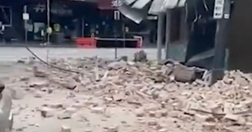 Melbourne rocked by 6.0 magnitude earthquake as rubble falls from buildings