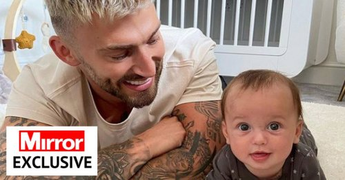 Jake Quickenden says baby Leo cured broken heart after deaths of dad and brother