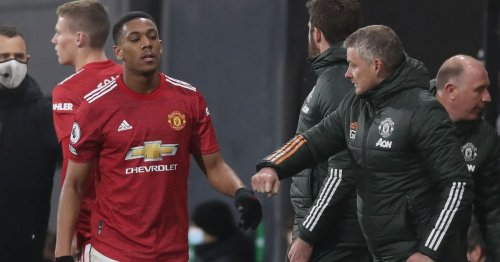 Solskjaer gives Martial update amid uncertainty over Man Utd future