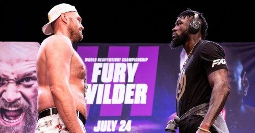 Anthony Joshua makes prediction for Tyson Fury vs Deontay Wilder trilogy fight