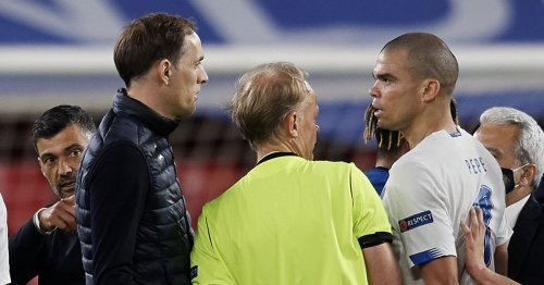 Thomas Tuchel's X-rated insult to Porto boss and post-match bust-up with Pepe