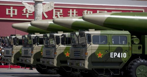 China 'making more than 100 nuclear missile silos' in nuclear force build-up