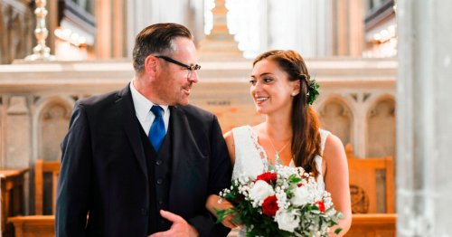 Dads will soon be able to walk their daughters down the aisle, mask free