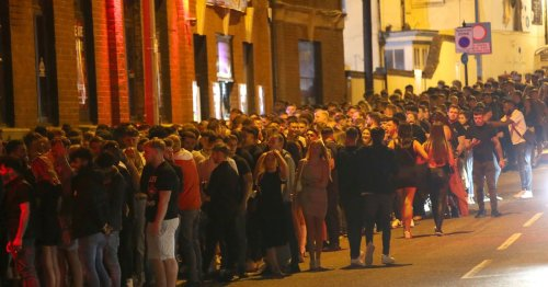 Partygoers go wild on first Friday night out in 16 months as nightclubs reopen