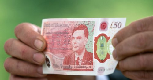 New plastic £50 note launches with touching tribute to WW2 genius Alan Turing