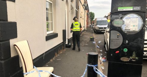 Woman, 31, dies in hospital with 'severe' burns as police arrest three men