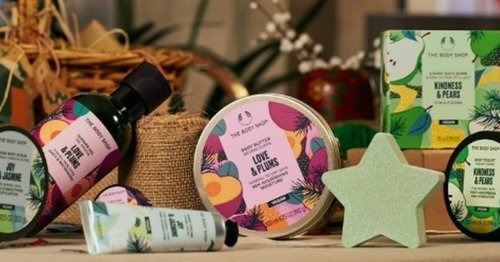 The Body Shop's Christmas gift collection is here and we want it all