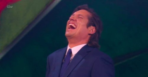 Vernon Kay howls with laughter as he sets up Jordan North in hot chilli contest