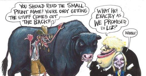 'Australia trade deal proves Boris' Johnson's Brexit boasts are bull'