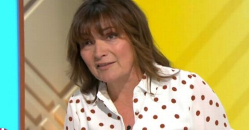 Lorraine Kelly slams 'unfair' wedding restrictions by 'hypocritical' government