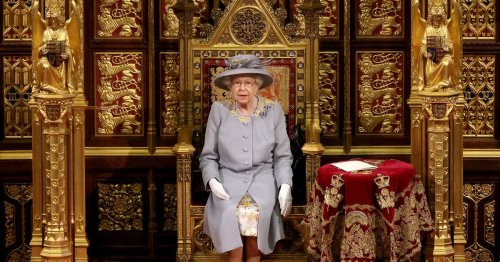 Queen pays poignant tribute to Philip with dress for State Opening of Parliament