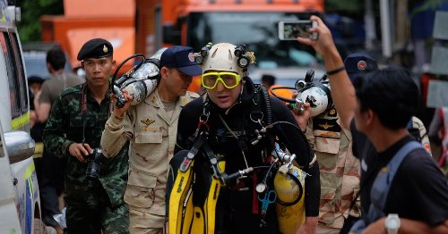'I led cave rescue of Thai soccer team - we feared we'd never see them alive'