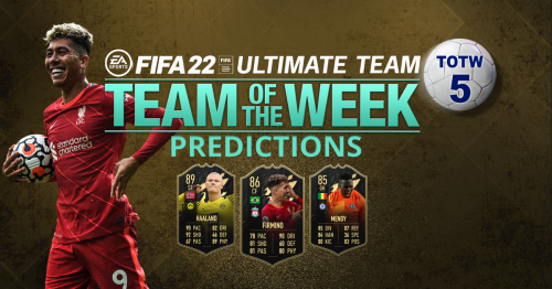 FIFA 22 TOTW 5 predictions featuring Liverpool, Bayern Munich and Chelsea stars