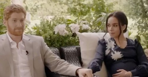 Watch Prince Harry and Meghan Markle 'escape the Royals' in new film trailer