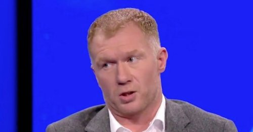 """Scholes predicts two-horse title race after """"worrying"""" Liverpool display"""