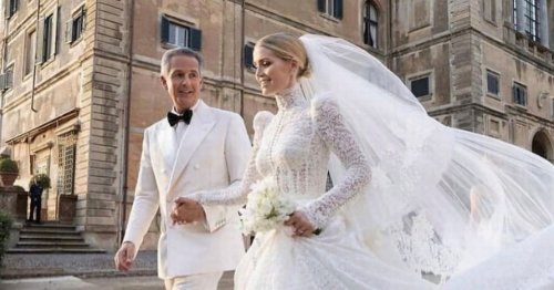 Princess Diana's niece Kitty Spencer breaks silence after dad missed wedding