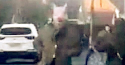 Man who terrified kids in sinister pig mask banned from wearing fancy dress