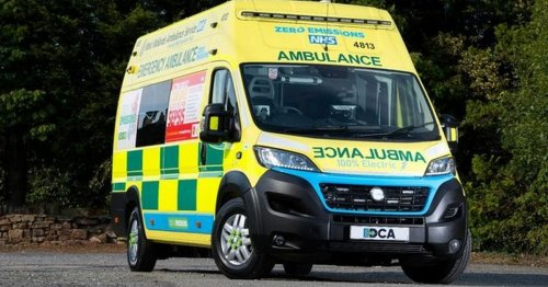 OAP waits 12 hours in rain for ambulance forcing son to use ladder as stretcher