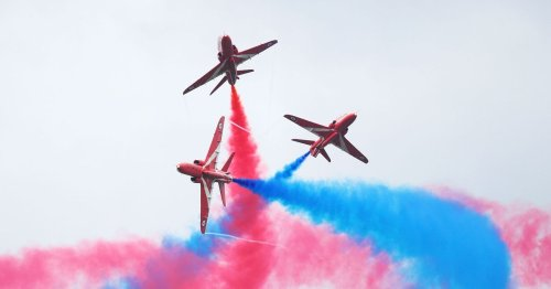 Red Arrows to fly foreign jets for the first time in their 56-year history