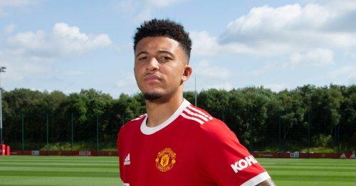 Sancho echoes Fernandes declaration after completing Man Utd transfer