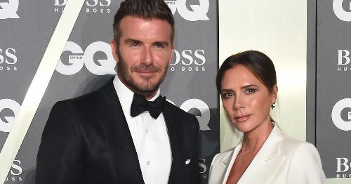 Victoria Beckham surprises David with balloon figures of his best achievements