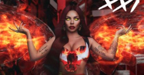 Jesy Nelson shows off very different look for fiery new magazine cover