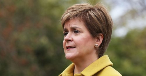Nicola Sturgeon 'sing Beatles style song 'in Janey Godley's new victory video.