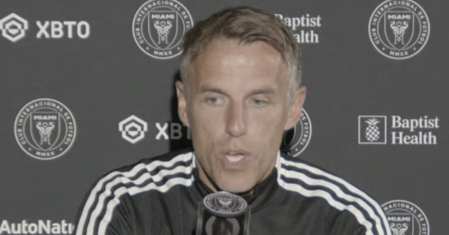 Phil Neville slams Man Utd fans calling for Ole Gunnar Solskjaer to be sacked
