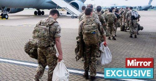 SAS commandos brand Afghan exit 'shameful' as Taliban execute trained troops
