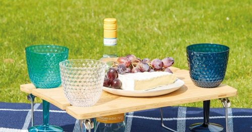 Aldi launch huge picnic range including £6 portable table with wine holder