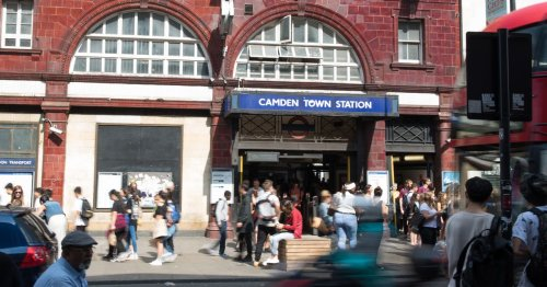Commuter horror as man on fire outside station 'after setting himself alight'