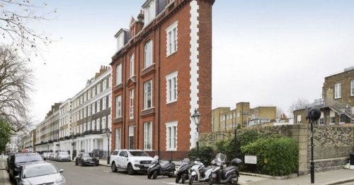 London's thinnest home at 6ft wide on sale for £800k but is yet to attract buyer