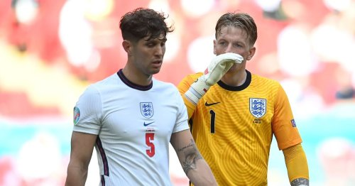 Jordan Pickford makes his plans clear as he responds to argument with Stones